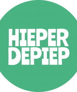 Hieperdepiep sticker
