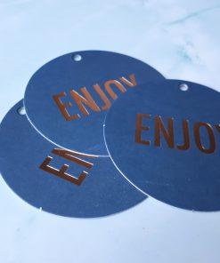 Enjoy cadeaulabel