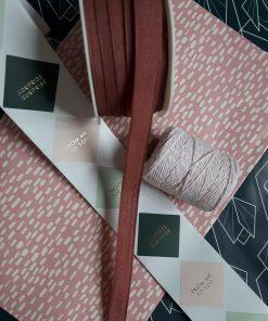 Lint – Linen Woven Faded Pink