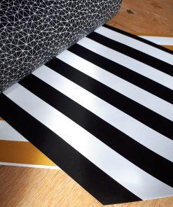 Cadeaupapier graphic zwart/wit
