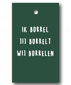 Cadeaulabel – Borrelen