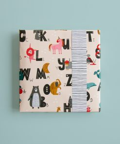 Inpakpapier – Alphabet