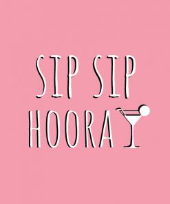 Ansichtkaart – Sip Sip Hooray