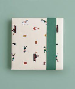 Cadeaupapier – Sinterklaas iconen
