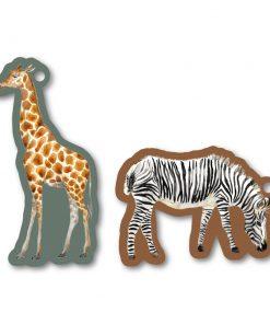 Cadeaulabel – Jungle Zebra