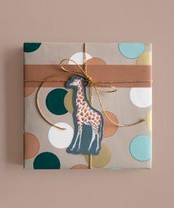 Cadeaulabel – Jungle Giraffe