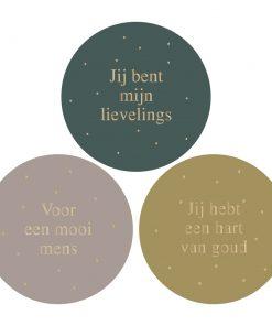 Cadeaustickers – Liefs