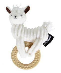 Bijtring / Bijtspeeltje met knuffel – Lama