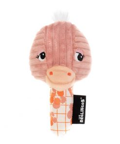 Babyspeelgoed Les Déglingos – Ontdekspiegel Struisvogel