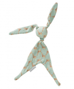 Knuffelkonijn Cottonbaby – Giraf/Groen