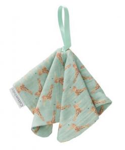 Speendoekje Cottonbaby – Giraf/Groen