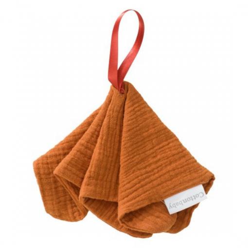 Speendoekje Cottonbaby – Roest