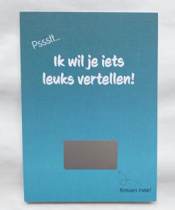 Kraskaart – Je wordt oom