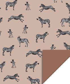 Cadeaupapier – Zebra