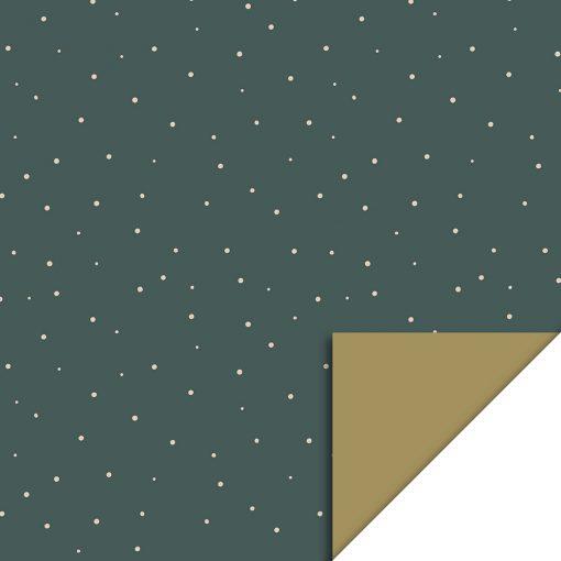 Cadeaupapier – Little Dot Petrol