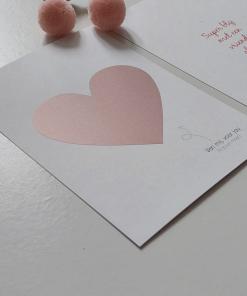 Ansichtkaart – Blij met een vriendin als jij (kraskaart)