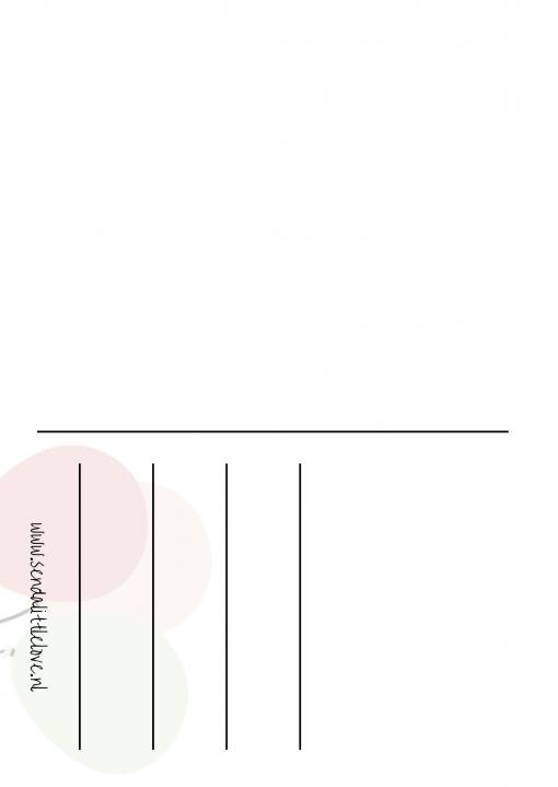 Ansichtkaart – Potje jarig